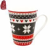 Tazze di caffè di ceramica promozionali di nuovo natale dell'osso della Cina