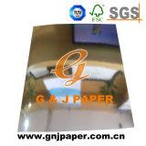 タバコのパックのためのカスタム金かスライバによって塗られる金属で処理されたペーパー
