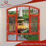 Salto térmico de gama alta de madera aluminio Casement Windows