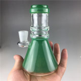 مصغّرة زاويّة [شش] تصميم كأس قاعدة زجاج يدخّن [وتر بيب]