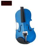 卸し売り安い価格の青い合板学生のバイオリン