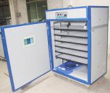 Prix industriel de machine d'incubateur d'oeufs de volaille complètement automatique de plaque en acier