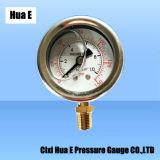 40mm Boîtier en acier inoxydable résistant à la corrosion compteur de pression