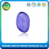 Spugna cosmetica molle veloce di trucco del silicone di figura di foglio di trasporto del campione libero