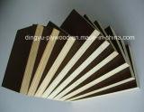 Grado de la construcción de color marrón/Negro/Rojo Film enfrenta la madera contrachapada