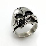 선물 남자 형식 열등한 보석 은 두개골 새로운 반지