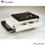 Table à manger blanc de haute qualité pour la maison de conception/bureau/Restaurant