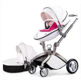 Fabrik-ledernes Onlinekabinendach-heiße Mamma 3 in 1 Baby-Spaziergänger