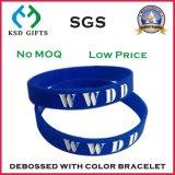 Wristband all'ingrosso del silicone di prezzi per le attività di ricreazione