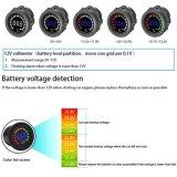 12V calibro impermeabile di volt del tester del comitato del voltmetro del visualizzatore digitale di CC Di colore LED per il fante di marina del crogiolo di camion del motociclo dell'automobile