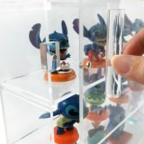 Acrylbildschirmanzeige-Zahnstangen-Kasten-Organisator-Ablagekasten-Kasten