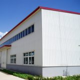 Prédio da escola usado da construção de aço