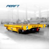 Veículo da plataforma do carro de transferência do trilho de um carregamento de 25 toneladas