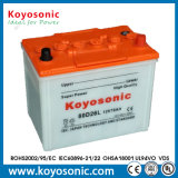 Una buena calidad de 12V 60Ah Dry-Charged Batería Batería de coche Auto