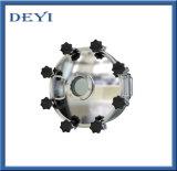 """"""" botola rotonda di Manway del serbatoio igienico dell'acciaio inossidabile 12 con pressione di esercizio 4.0bar"""