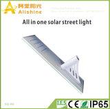 80W alle in einem Solarstraßen-Yard-Lampen-Straßenlaterne