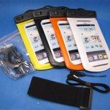 Armbinde-Handy-wasserdichter Beutel für iPhone 8 mit Kopfhörer
