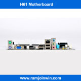 in Grote Motherboard van het Geheugen van de Voorraad DDR3 H61 Contactdoos LGA 1155
