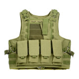 Vente en gros tactique de gilet de combat de Multicam Molle Airsoft Paintball