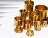 真鍮のアダプターの適切な伝動装置の部品の銅のブッシュの金属部分