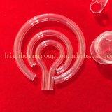Tubo di piccola dimensione del quarzo di figura di U