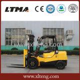 Kleiner hydraulischer Gabelstapler 2 Tonnen-Dieselgabelstapler für Verkauf