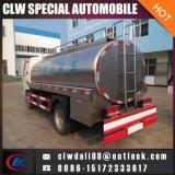 新しいミルク配達のための4*2 LHD Rhdのトラック、販売のためのミルクタンクトラック