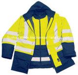 100% Plolyester Оксфорд ПВХ/PU Non-Breathable/PU дышащий материал с покрытием работы покрыть