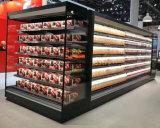 """Вертикальный воздушный занавес Merchandiser холодильник для сети супермаркетов """"холодной питание дисплея дела"""