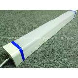 蒸気堅い線形照明設備IP65の三証拠LEDライト