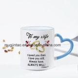 Kop van de Koffie van de Verandering van de Kleur van de Mok van de Gift van het keukengerei de Vastgestelde Ceramische Magische