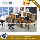 prix d'usine PVC couleur cerise de bandes de chant Office Desk (HX-8NR0555)
