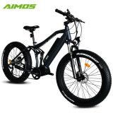 48V 1000W G510 Motor de mediados de los neumáticos de la grasa de la suspensión total Bicicleta eléctrica