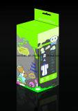 Boîtes carrées durables claires/transparentes de qualité en plastique avec le couvercle