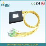 FC PLC van de koppeling FTTH Splitser/PLC van de Optische Vezel Splitser