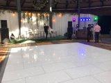 Plancher de danse du Club de LED avec une lumière blanche pour mariage/Parti événement