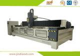 Centro di lavorazione di pietra ad alta velocità Cina di CNC dell'asse di rotazione GM3215