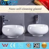 Banheiro pequeno tamanho formato arredondado da bacia de lavar o misturador de lavar roupa BC-7026
