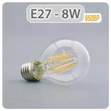 Lámpara de iluminación LED 4W 6W de luz LED 8W E27 B22 Bombilla LED una lámpara de incandescencia LED60
