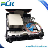 FTTH/Red 24 núcleos de fibra óptica de Indoor/Outdoor Caja de distribución de divisor de PLC