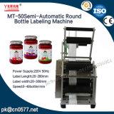 Frascos redondos semiautomático máquina de rótulos para as capas (MT-50)