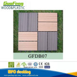 O intertravamento de bricolage antiderrapagem Outdoor Flooring WPC mosaico em deck 300x300mm