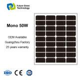 Energie-monosolarzellen-Panel der Energien-50W mit Cer ISO