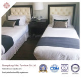 침실 (8627)를 위한 목제 침대 머리를 가진 간단한 호텔 가구