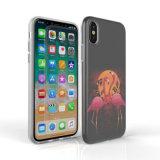 Cassa molle del telefono di TPU IMD per il iPhone X con stampa