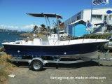 Bateau de pêche de constructeurs de bateaux de Panga de Liya 19feet avec le moteur