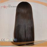 Peluca hecha a máquina llena de las mujeres del pelo humano (PPG-l-0798)