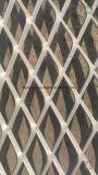 금속 벽지는 알루미늄에 의하여 확장된 메시 장을 깐다