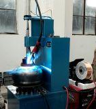 Soldadora del tapón de la válvula del cilindro del LPG para la cadena de producción