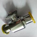 Gesundheitliches Edelstahl-Kugelventil mit direktem Schelle-Ende des ISO5211 Befestigungsflansch-1000wog